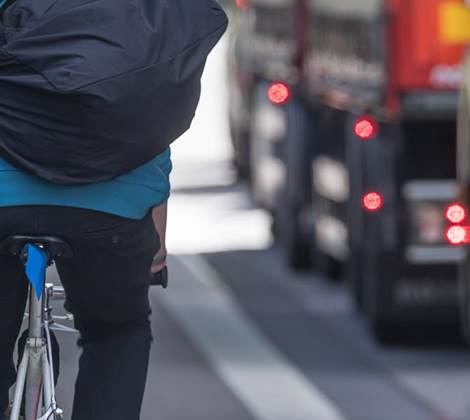 safer urban driving cyclist