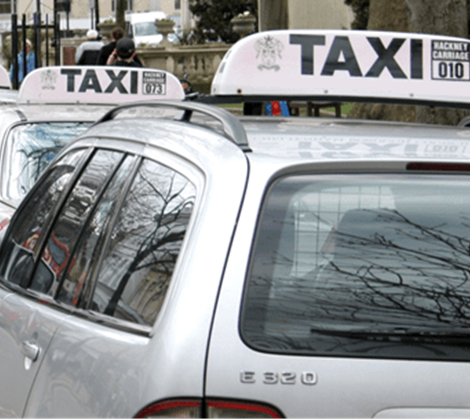 Private Hire Taxi Header