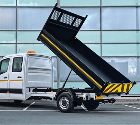 Tipper or Dropside Van